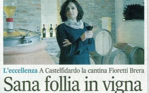 Fioretti Brera tra le eccellenze su Il Corriere Adriatico